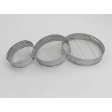 40 cm Seyrek Çelik Kalbur