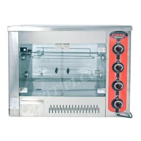 12 Piliçli Setüstü Piliç Çevirme Makinesi